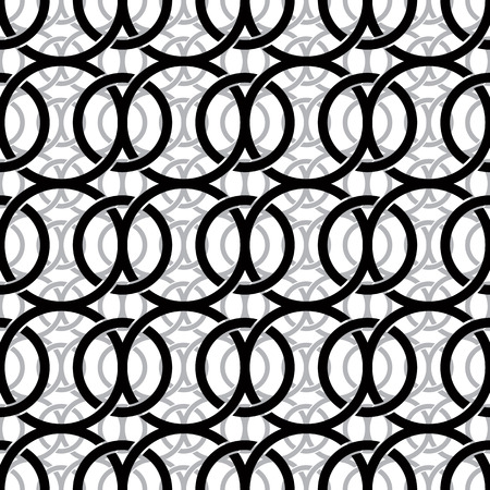 netting: Monochrome vintage style netting seamless pattern, vector background.