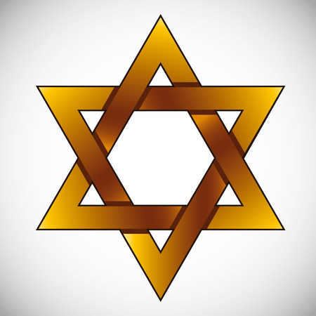 pictogramme: Star of David, vector.
