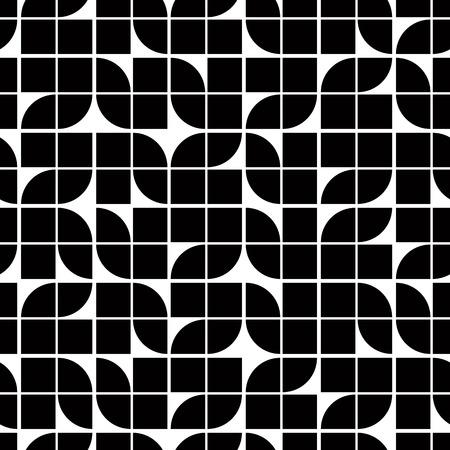 geometric patterns: Vintage single color seamless tiles, vector seamless pattern.