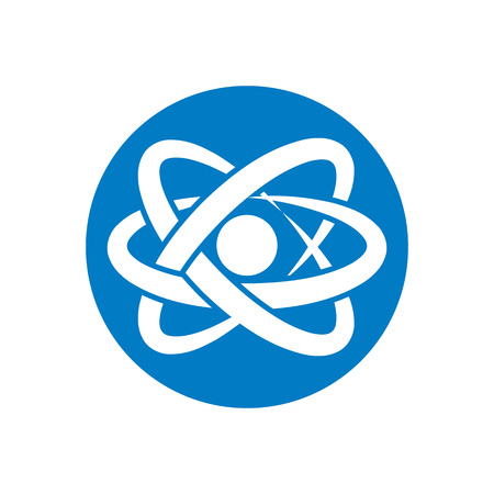 Atom symbol. Vector. Stock Vector - 30275673
