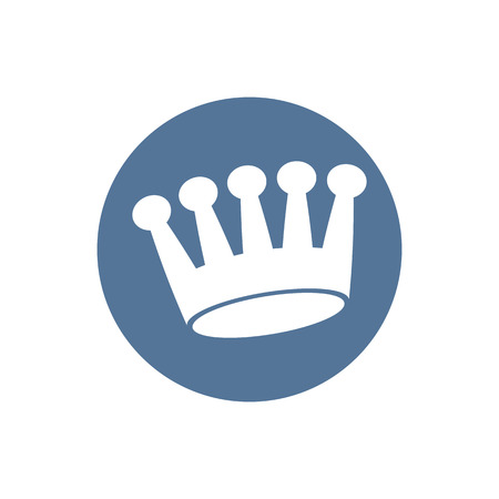 aristocracy: Crown icon, vector.