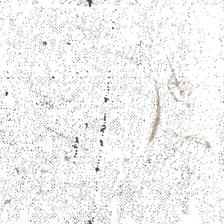 scanned: Seamless old rusty grunge texture, vector background.
