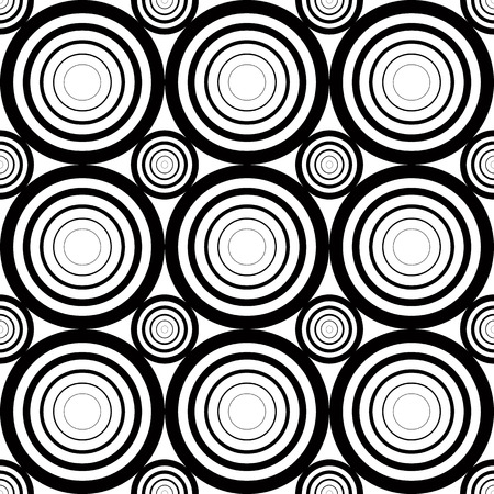 white line: Seamless geometric black and white stripes background, simple vector pattern, accurate, editable and useful background for design or wallpaper.
