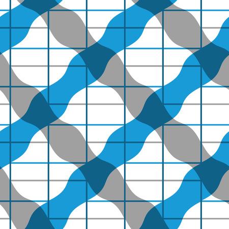 extravagant: Retro mosaic seamless pattern, vector background.