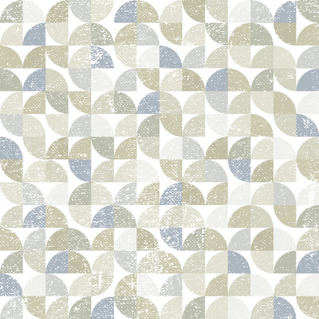 carpet and flooring: Vector geometric neutral textile abstract seamless pattern, contemporary carpet tiles. Illustration
