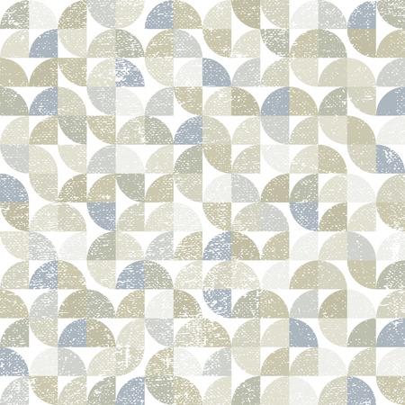 carpet flooring: Vector geometric neutral textile abstract seamless pattern, contemporary carpet tiles. Illustration