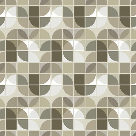 illusory: Neutral Vector ilusoria fondo geom�trico, modelo abstracto sin fisuras ornamento.