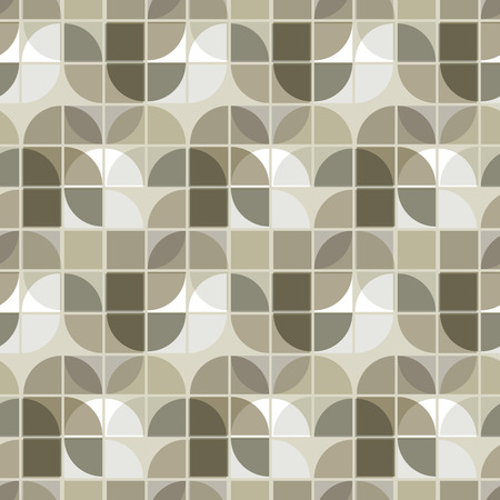 illusory: Vector neutral illusory geometric background, ornament abstract seamless pattern. Illustration