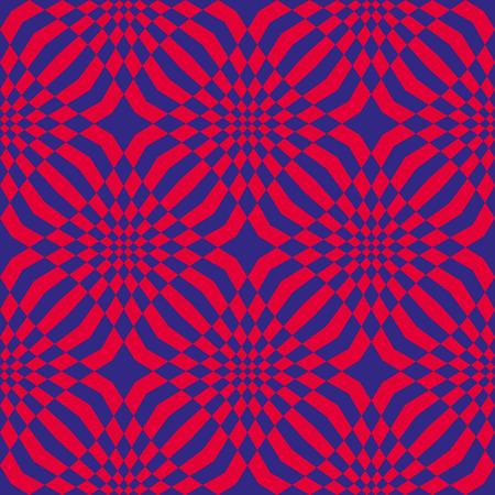 toilet paper art: Mosaic seamless pattern, vector background.
