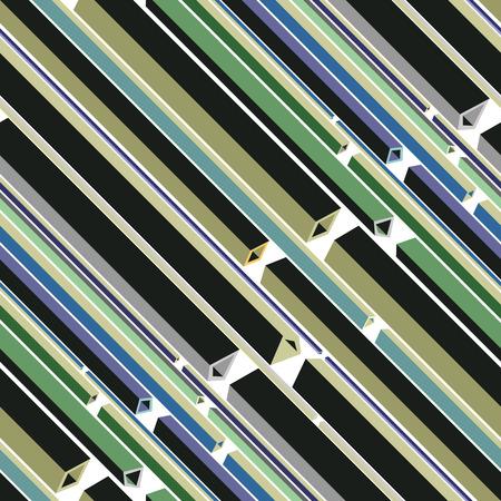 armature: Colorful factory horizontal armature on white background. Illustration
