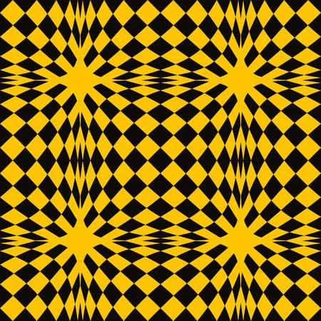 toilet paper art: Mosaic seamless pattern, simple geometric vector background.