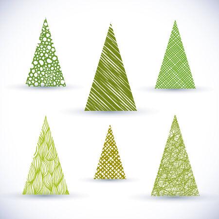 christmass: Arboles de conjunto de vectores.
