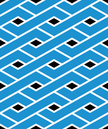 imposing: Modern zigzag bright geometric seamless pattern. Rhombus graphic contemporary splicing. Imposing colorful infinite backdrop with symmetric ethnic illustration.