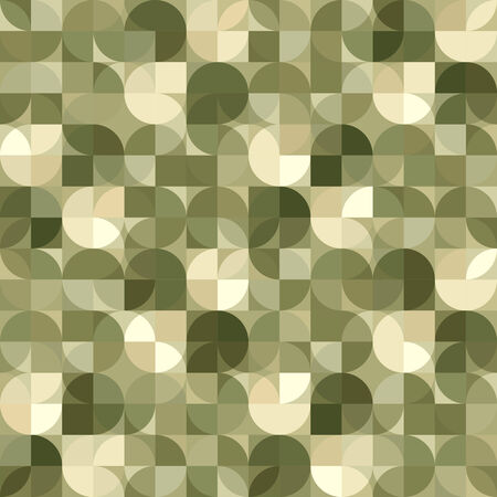 interlace: Vector geometric background, illusory abstract seamless pattern. Illustration