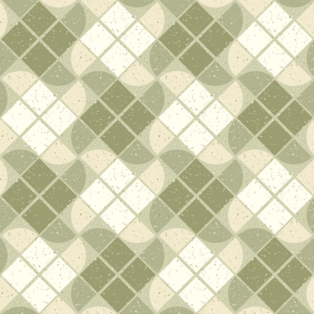 carpet and flooring: Vintage wavy decorative seamless pattern, geometric abstract backdrop.