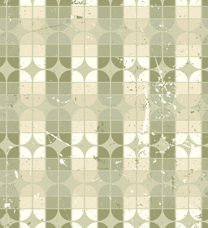 crannied: Vintage neutral geometric seamless pattern, stained glass abstract background.