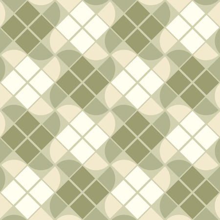 covering cells: Vector geometric neutral background, elegant squared seamless pattern. Illustration