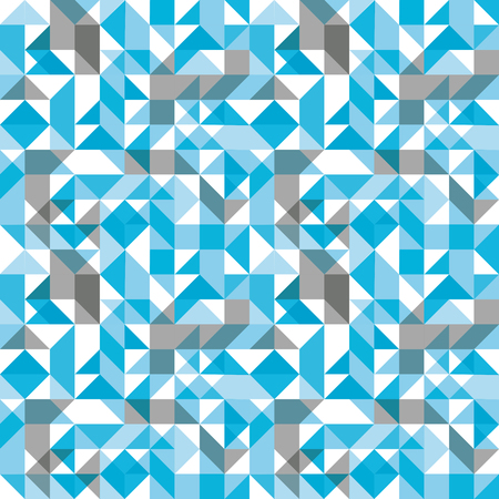 parallelogram: Bright seamless pattern with geometric figures, colorful mosaic textile, multicolored abstract vector book cover with squares and rectangles.