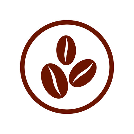 white beans: Coffee beans symbol.