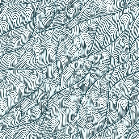 doddle: Seamless doddle art, hand drawn vector background. Illustration