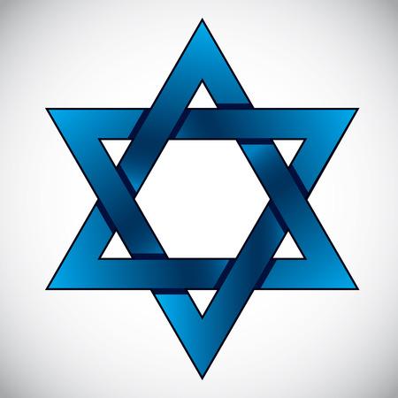 zion: Star of David, symbol of Israel.