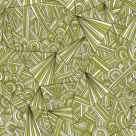 doddle: Seamless doddle illustration, hand drawn vector background.