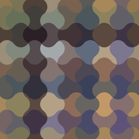 eps 8: Dark wavy seamless pattern, vector background, eps 8.