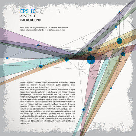 eps 10: Abstract background, vector geometric illustration eps 10.
