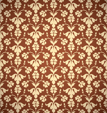 secession: Vintage style seamless background, perfect vector wallpaper or web background pattern.