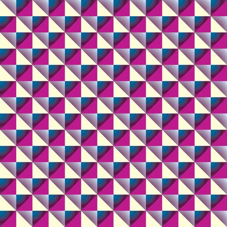 simplistic: Simplistic geometric tiles seamless pattern. Illustration