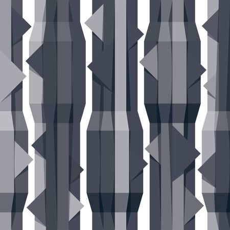 papier peint noir: G�om�triques fond d'�cran noir avec rubans verticaux, ray� abstract seamless pattern.