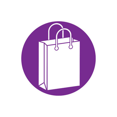 shopping bag icon: Shopping bag vector icon.