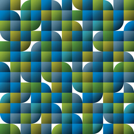 covering cells: Vector geometric colorful abstract seamless pattern, glossy smooth mosaic background.