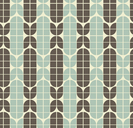 covering cells: Vector neutral geometric background, ornament abstract seamless pattern. Illustration