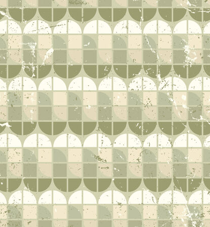 elliptic: Vintage bright geometric seamless pattern, stained glass abstract background.