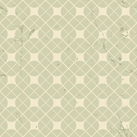carpet and flooring: Vintage floral seamless pattern, neutral geometric abstract backdrop. Illustration