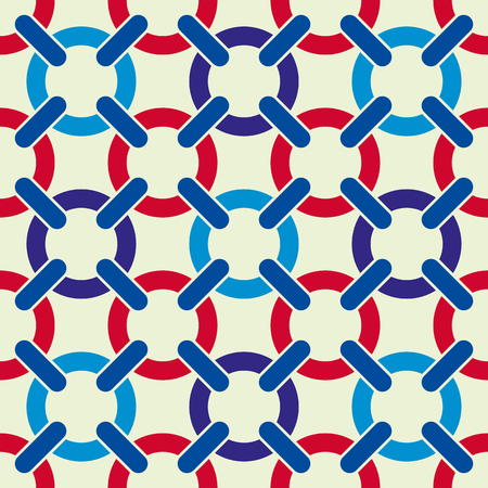 lattice: Lattice seamless pattern, vector background.