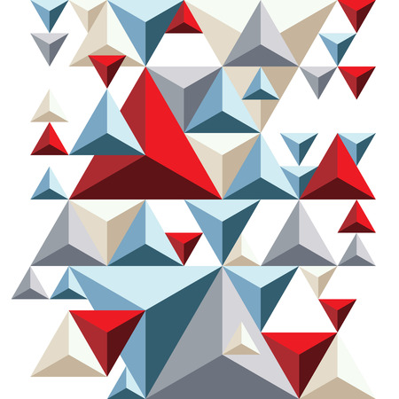 pyramidal: Bright geometric pyramidal background, colorful triangles.