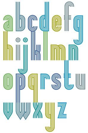 verb: Fuente expresiva brillante, de tracer�a letras min�sculas. Vectores