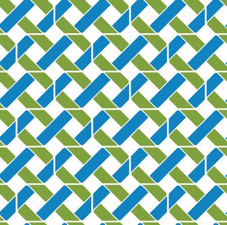 охватывающей: Красочный геометрический узор бесшовные, симметричные бесконечных фон вектор. Абстрактное понятие пересечение покрытие.