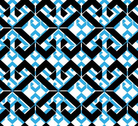 охватывающей: Бесшовные шаблон с ромбами, красочные бесконечная геометрическая мозаика текстиль, вектор модно покрытие.