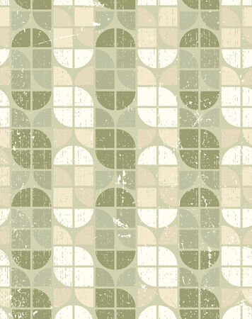 tattered: Neutral tattered textile geometric seamless pattern, vector abstract infinite retro background.