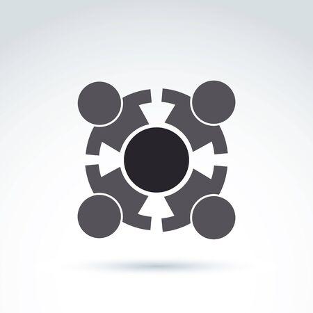 tomados de la mano: Trabajo en equipo y equipo de negocios y la amistad icono, grupo social, organizaci�n, s�mbolo inusual conceptual para su dise�o.
