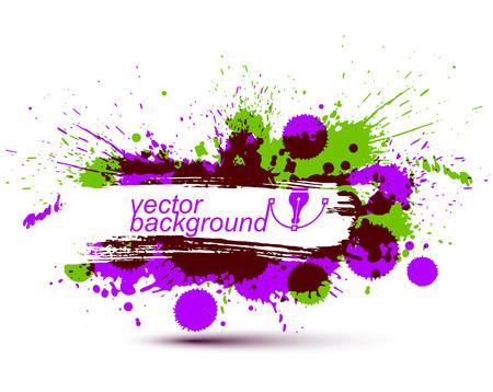 Colored modern vector acrylic wallpaper
