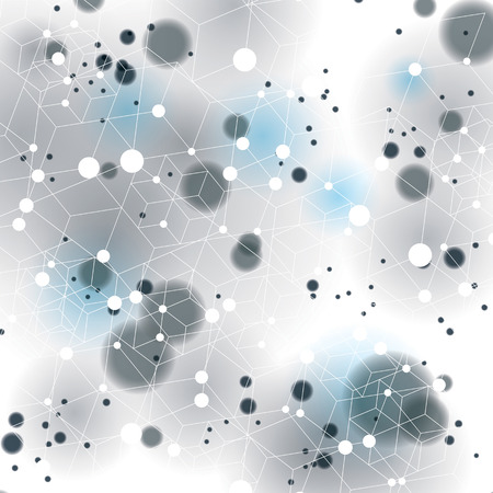 vague: Vector digital 3d abstraction, geometric polygonal perspective mesh illustration.