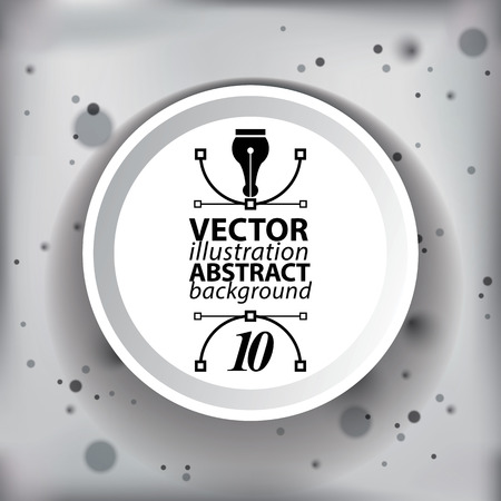 vague: Vector blur abstract 3D complicated op art backdrop,