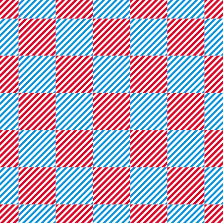 lined: Lined squares seamless pattern, vector background.