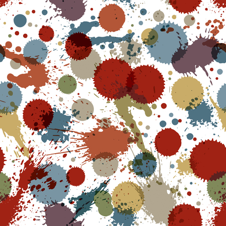 inaccurate: Colorful watercolor graffiti splash overlay elements, inaccurate paint seamless backdrop