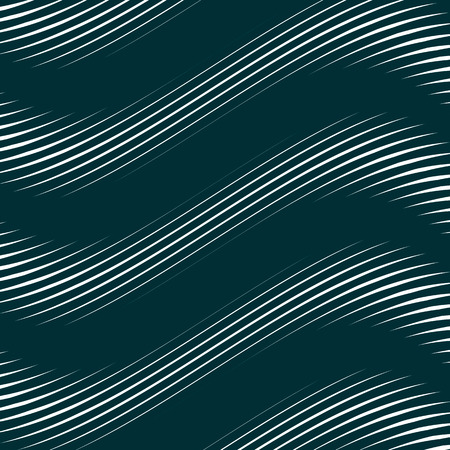 meditative: Optical illusion, moire background, abstract lined monochrome tiling. Unusual geometric pattern with visual effects. Illustration