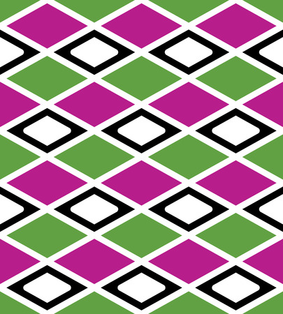 intertwine: Rhythmic colorful textured endless pattern with rhombs, continuous elegant ethnic intertwine geometric background. Classic zigzag vivid texture.